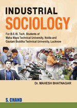 Cover image of INDUSTRIAL SOCIOLOGY