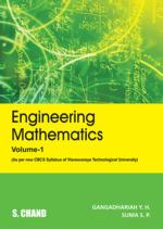 Cover image of Engineering Mathematics - 1(CBCS Syllabu