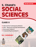 Cover image of S. Chand's Social Sciences For Class X