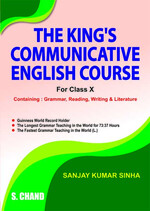 Cover image of The King's Communicative English Course For Class X