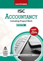 Cover image of ISC Accountancy for Class XI