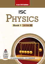 Cover image of ISC Physics for Class XI (As per 2023 syllabus)