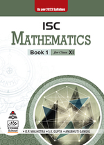 Cover image of ISC Mathematics for Class XI (As per 2023 syllabus)