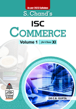 Cover image of S. Chand's ISC Commerce For Class XI