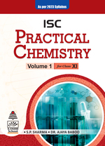 Cover image of ISC Practical Chemistry Volume I For Class XI (As per 2023 syllabus)