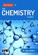 Cover image of Quick Revision in ICSE Chemistry for Class X