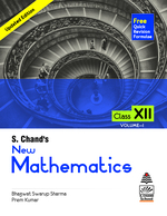 Cover image of S. Chand's New Mathematics Class XII