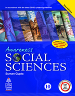 Cover image of Awareness Social Sciences for Class X