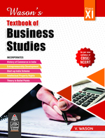 Cover image of Wason's Textbook of Business Studies for Class XI