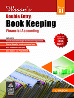 Cover image of Wason's Double Entry Book Keep_XI_2021