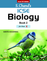 Cover image of S. Chand's ICSE Biology Book II For Class X (As per 2022 syllabus)
