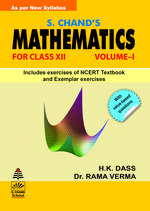 Cover image of S. Chand's Mathematics -XII (Vol-I)