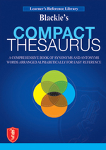 Cover image of Blackie's Compact Thesaurus