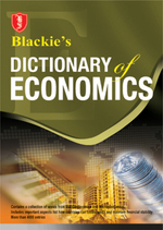 Cover image of Blackie's Dictionary of Economics