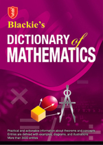 Cover image of Blackie's Dictionary of Mathematics