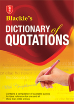 Cover image of Blackie's Dictionary of Quotations