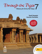 Cover image of Through The Ages History & Civics class 7