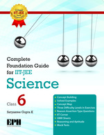 Cover image of Complete Foundation Guide For IIT JEE, Science 6