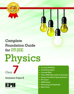 Cover image of Complete Foundation Guide For IIT JEE, Physics 7