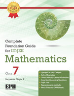 Cover image of Complete Foundation Guide For IIT JEE Mathematics Class 7