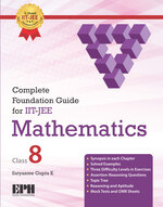 Cover image of Complete Foundation Guide For IIT JEE Mathematics Class 8