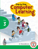 Cover image of Step By Step Computer Learning For Class  3