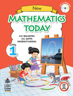 Cover image of New Mathematics Today Class 1