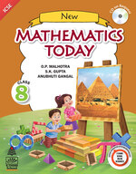 Cover image of New Mathematics Today Class 8