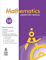 Cover image of Mathematics Laboratory Manual for Class 10