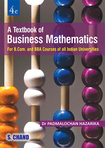 Cover image of A Textbook of Business Mathematics