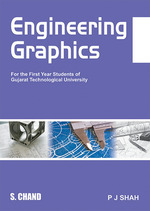 Cover image of Engineering Graphics For First Year Students (GTU)