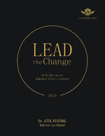 Cover image of LEAD The Change: An Anthology to Empower School Leaders