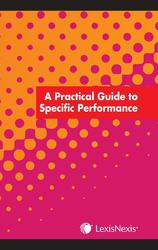 Cover image of A Practical Guide of Specific Performance