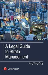 Cover image of A Legal Guide to Strata Management
