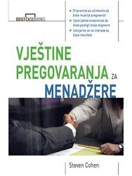 Cover image of Vještine pregovaranja za menadžere