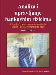 Cover image of Analiza i upravljanje bankovnim rizicima