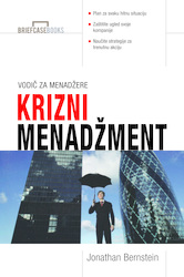 Cover image of Krizni menadžment