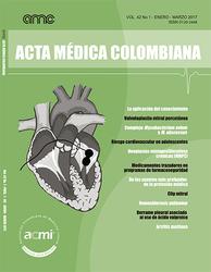 Vol. 42 No 1. Revista Acta Médica Colombiana 2017 (COLOMBIA-ACMI)