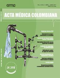 (COLOMBIA-ACMI) Revista Acta Médica Colombiana 2017 Vol. 42 No 2
