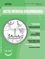 (COLOMBIA-ACMI) Revista Acta Médica Colombiana 2017 Vol. 42 No 4
