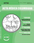 Vol. 42 No 4. Revista Acta Médica Colombiana 2017 (COLOMBIA-ACMI)