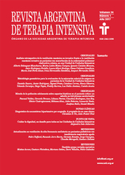 (ARGENTINA-SATI) Revista de Medicina Intensiva 2013 - 2017