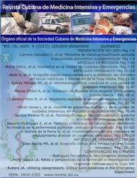 Revista Cubana de Medicina Intensiva y Emergencias (CUBA)  2012 - 2018