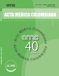 (COLOMBIA-ACMI) Revista Acta Médica Colombiana 2014, 2015, 2016