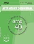 Revista Acta Médica Colombiana (COLOMBIA-ACMI) 2014, 2015, 2016
