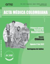 (COLOMBIA-ACMI) Revista Acta Médica Colombiana 2018 Vol. 43 No 1 (Suplemento - Digital)