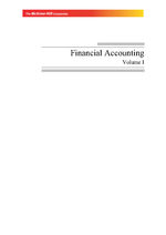 Cover image of Financial Accounting Vol-I