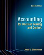 Cover image of Accounting for Decision Making and Control