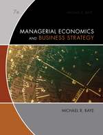 Cover image of Managerial Economics & Business Strategy