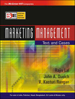 Cover image of Marketing Management: Text and Cases